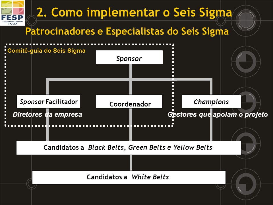 2. Como implementar o Seis Sigma