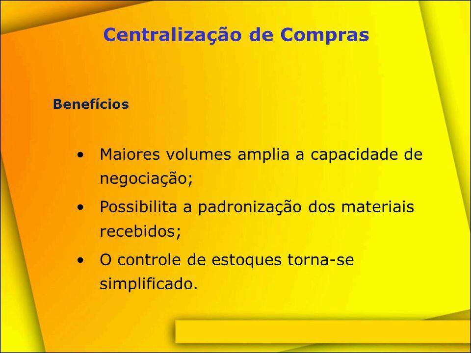 Centralização de Compras
