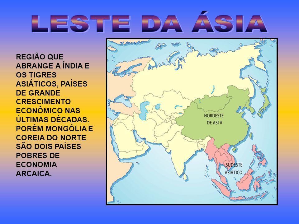 LESTE DA ÁSIA