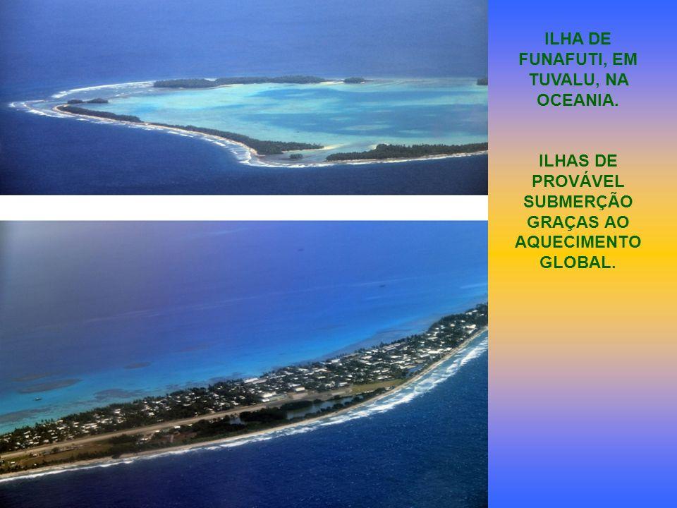 ILHA DE FUNAFUTI, EM TUVALU, NA OCEANIA.