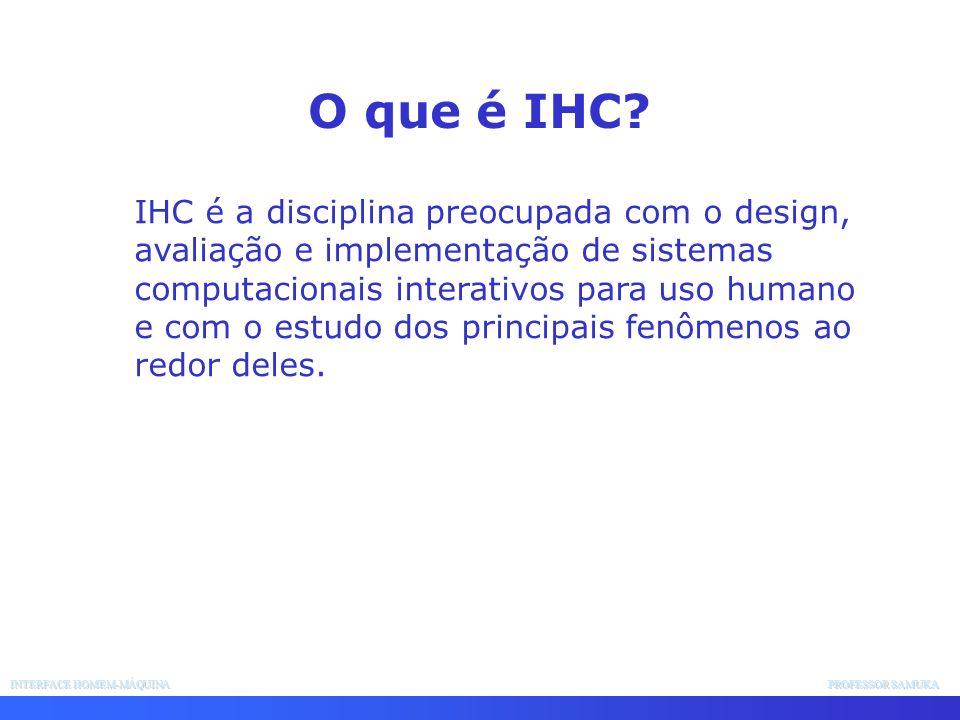 O que é IHC