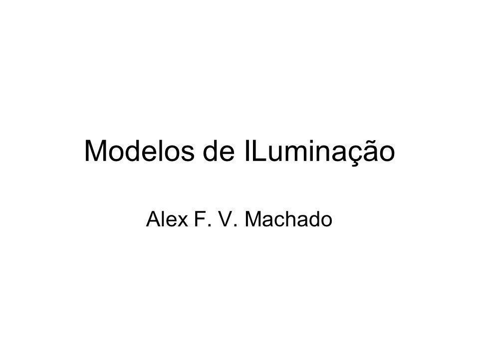 Modelos de ILuminação Alex F. V. Machado