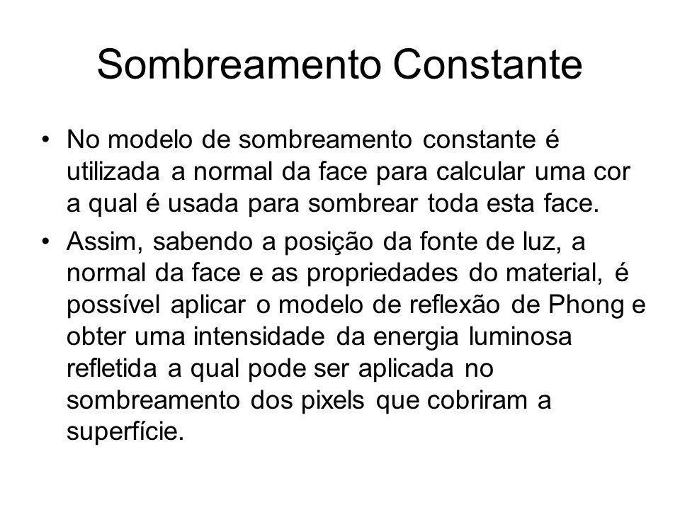 Sombreamento Constante