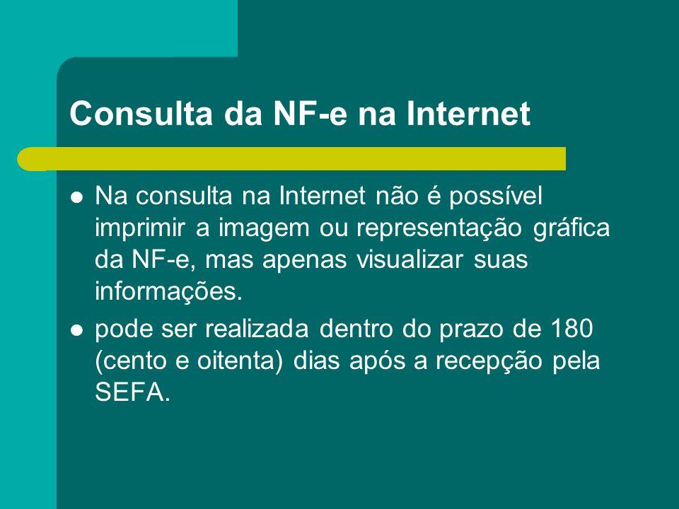 Consulta da NF-e na Internet