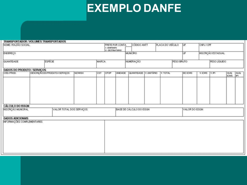 EXEMPLO DANFE