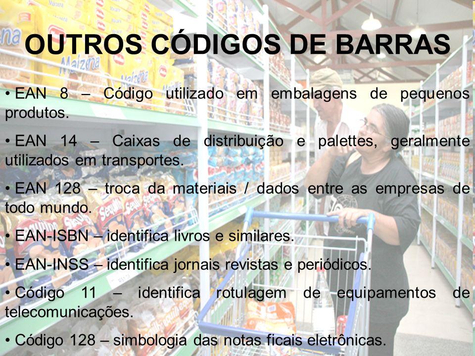 OUTROS CÓDIGOS DE BARRAS