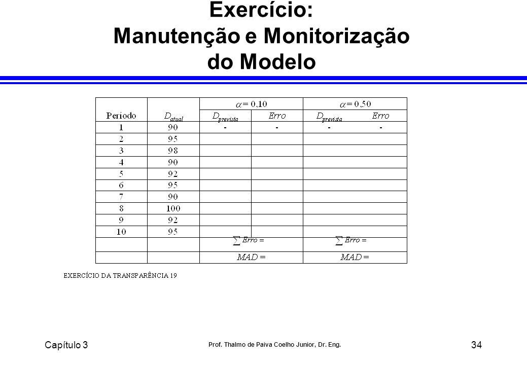 Exercício: Manutenção e Monitorização do Modelo