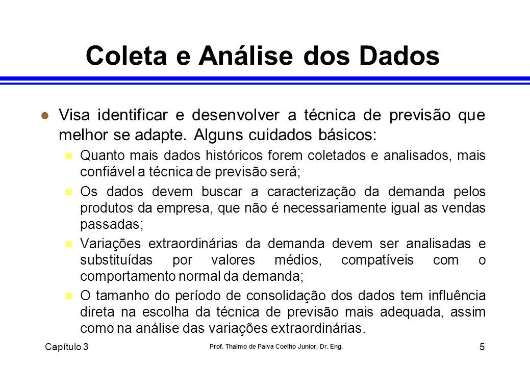 Coleta e Análise dos Dados