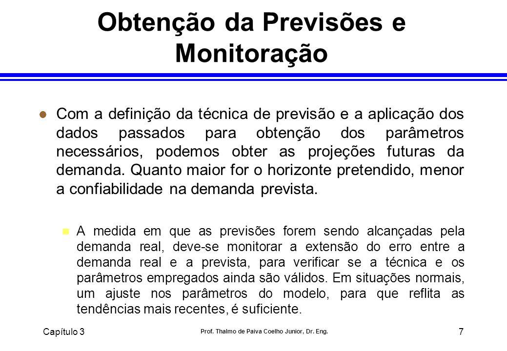 Obtenção da Previsões e Monitoração