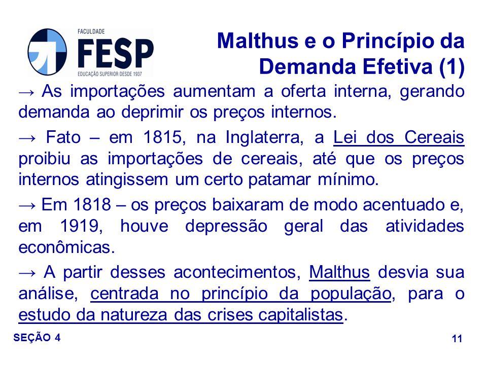 Malthus e o Princípio da Demanda Efetiva (1)