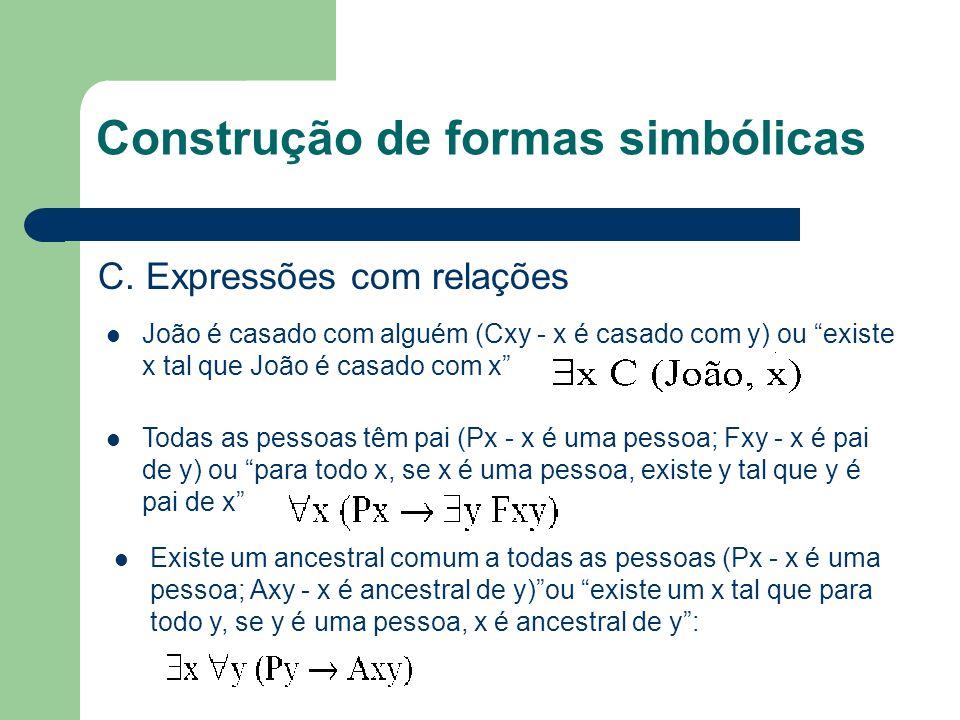 Construção de formas simbólicas