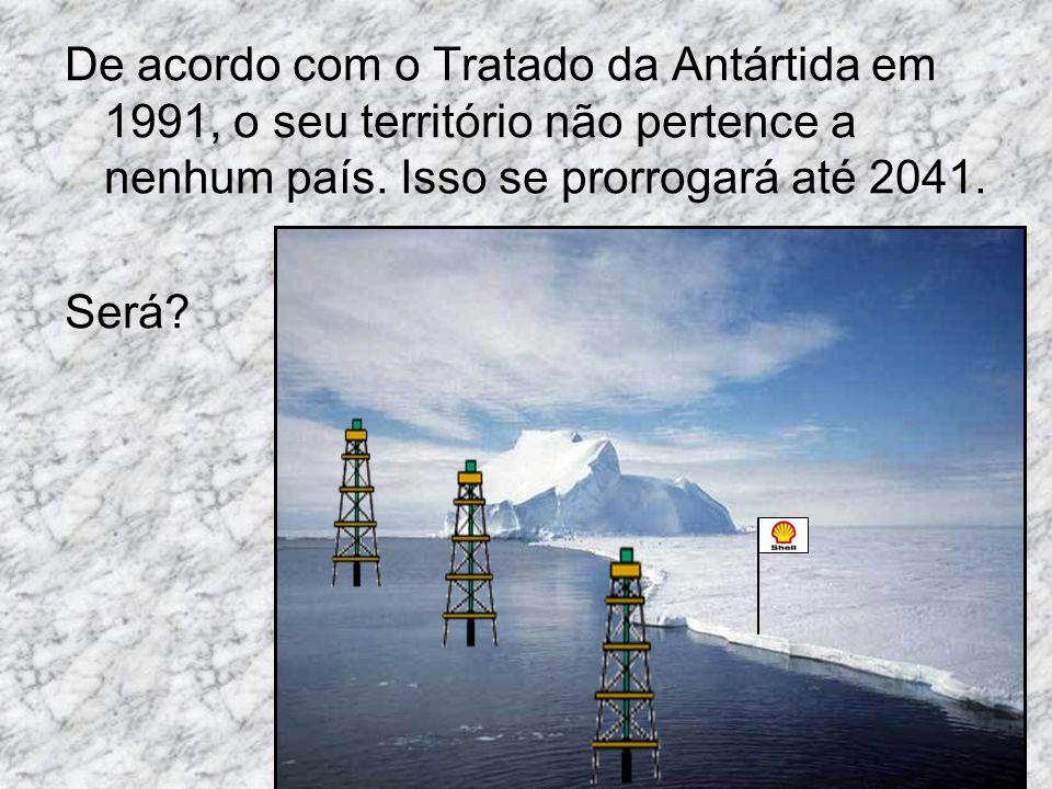 De acordo com o Tratado da Antártida em 1991, o seu território não pertence a nenhum país. Isso se prorrogará até 2041.