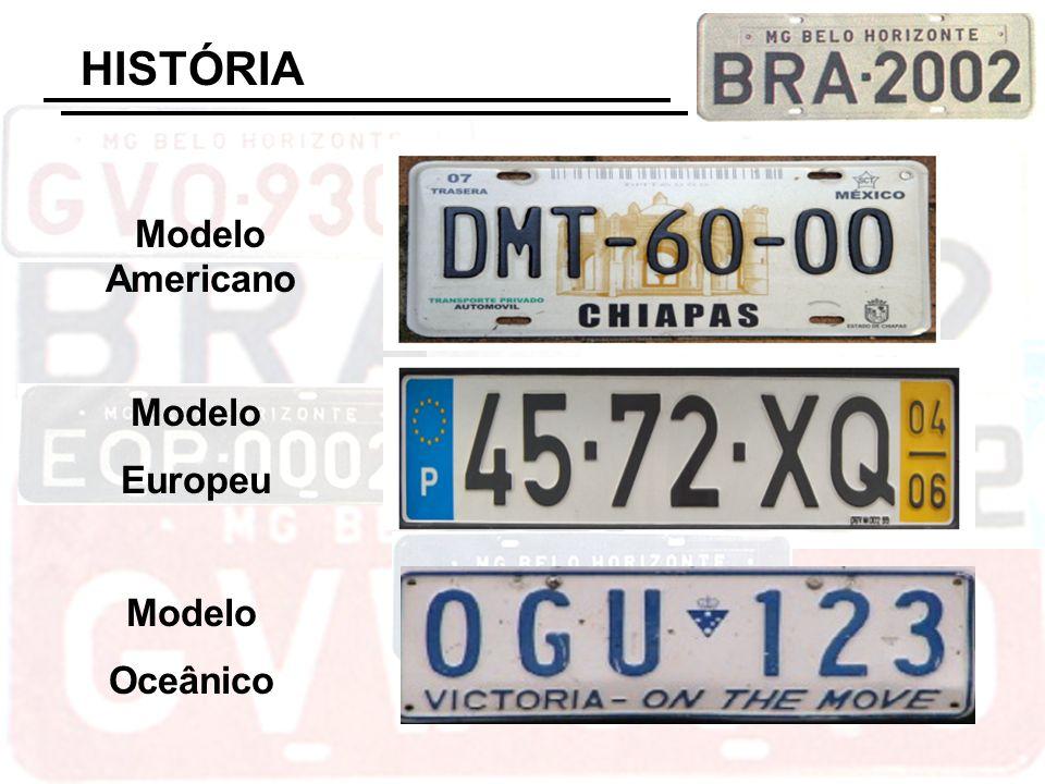 HISTÓRIA Modelo Americano Modelo Europeu Modelo Oceânico