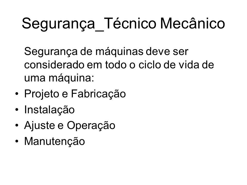 Segurança_Técnico Mecânico
