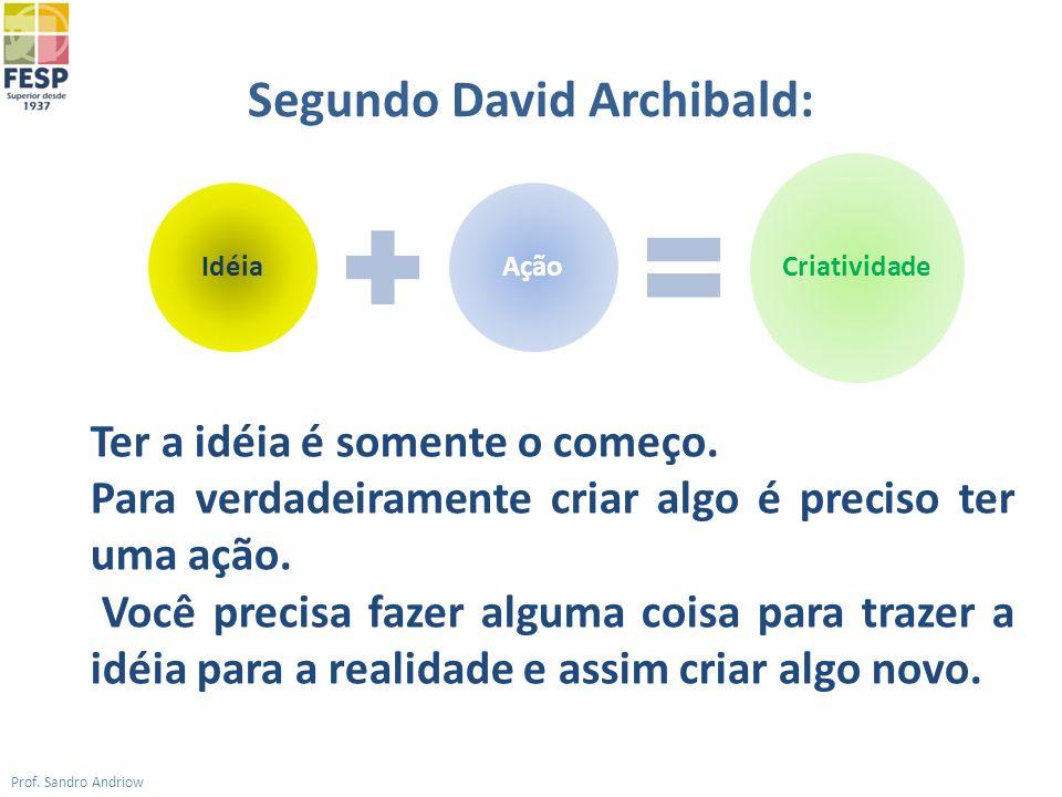 Segundo David Archibald: