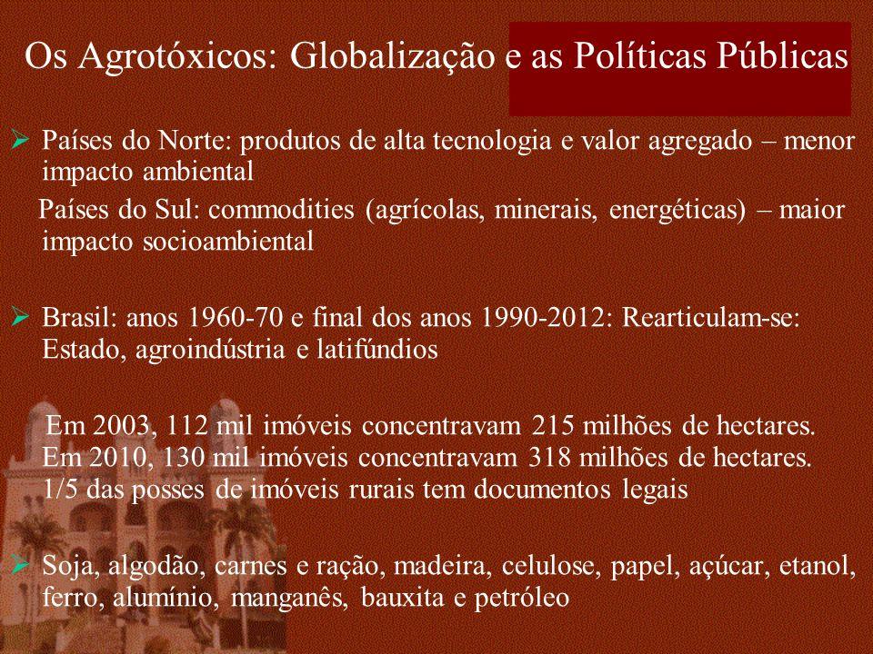 Os Agrotóxicos: Globalização e as Políticas Públicas