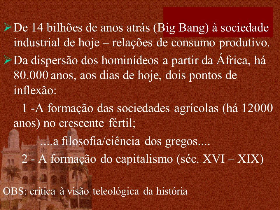 ....a filosofia/ciência dos gregos....