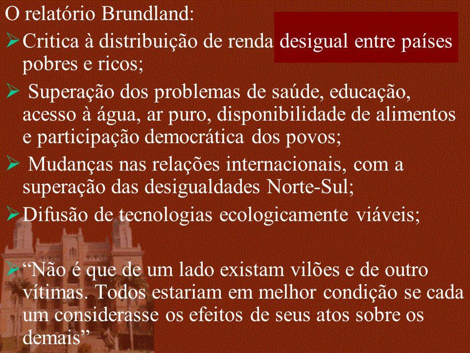 O relatório Brundland:
