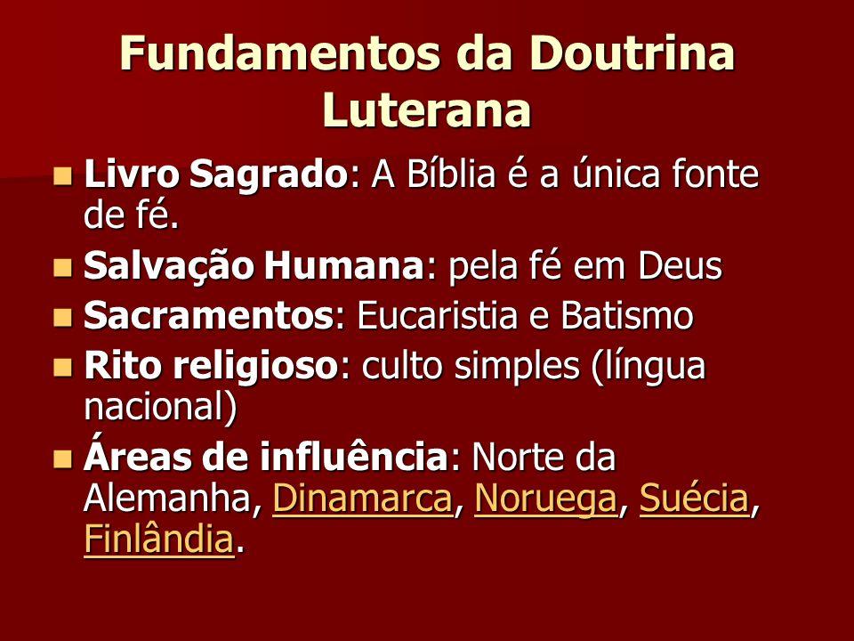 Fundamentos da Doutrina Luterana