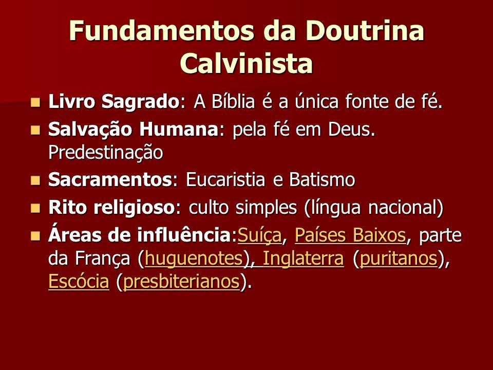 Fundamentos da Doutrina Calvinista