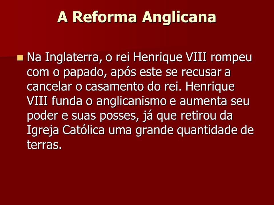 A Reforma Anglicana