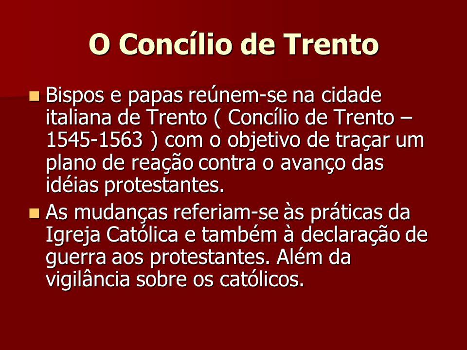 O Concílio de Trento