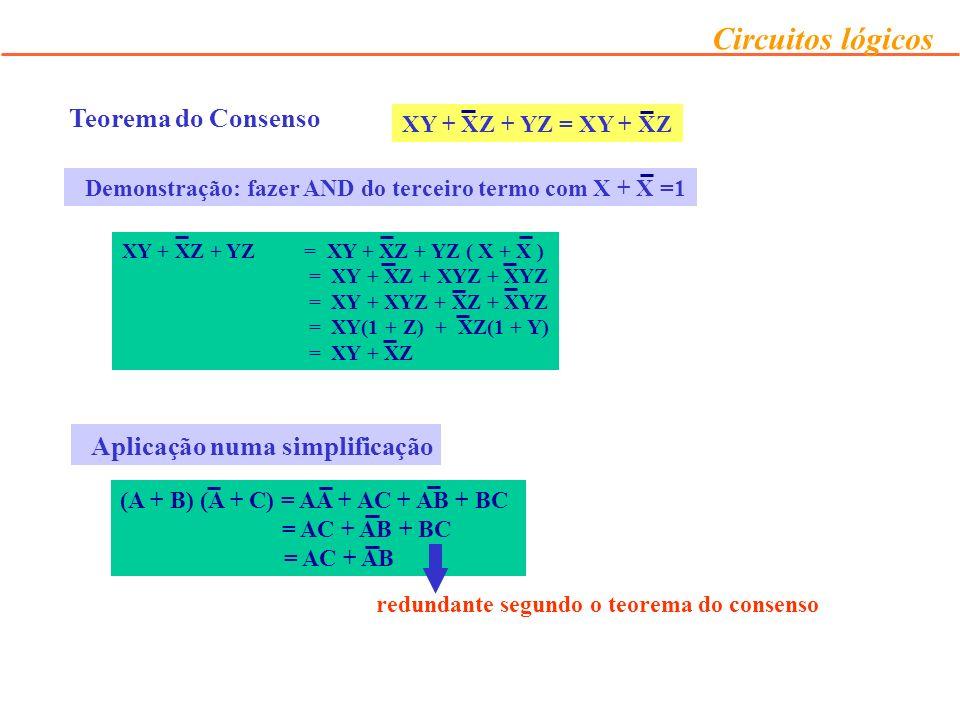 (A + B) (A + C) = AA + AC + AB + BC = AC + AB + BC = AC + AB