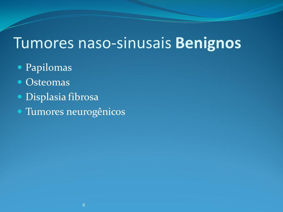 Tumores naso-sinusais Benignos