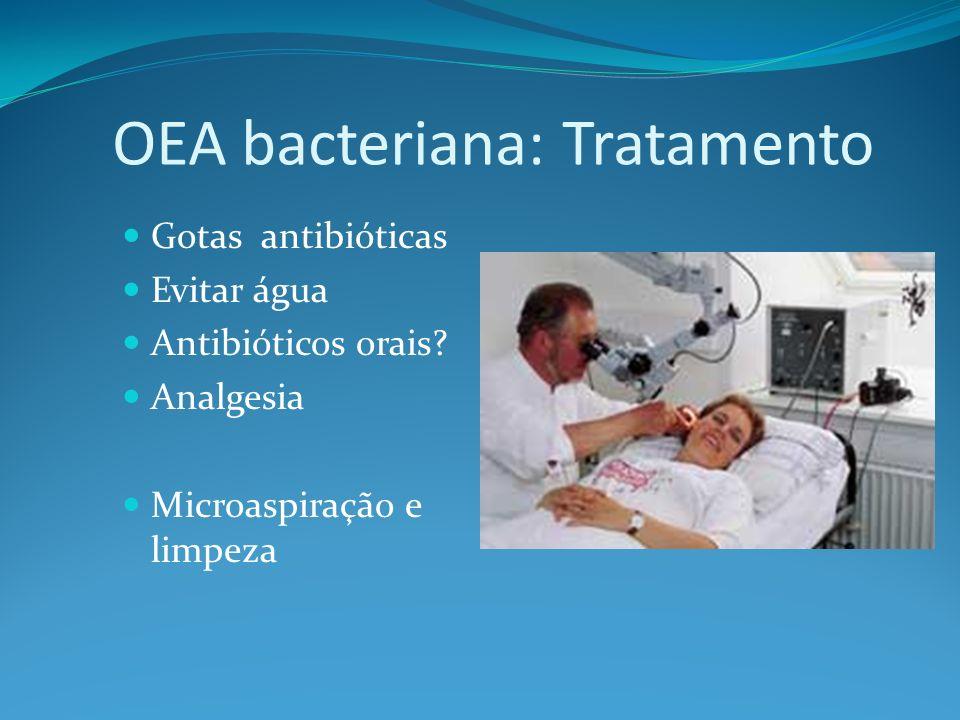 OEA bacteriana: Tratamento
