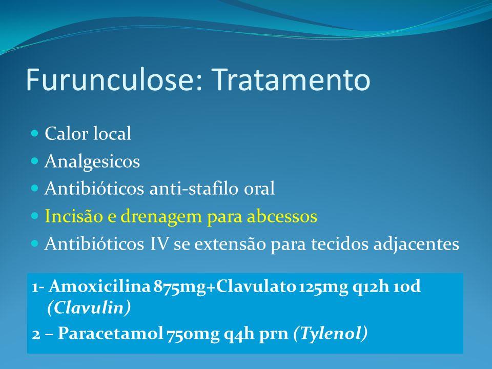 Furunculose: Tratamento