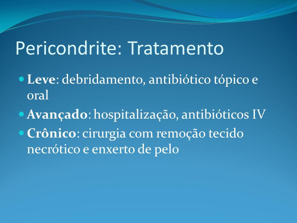 Pericondrite: Tratamento