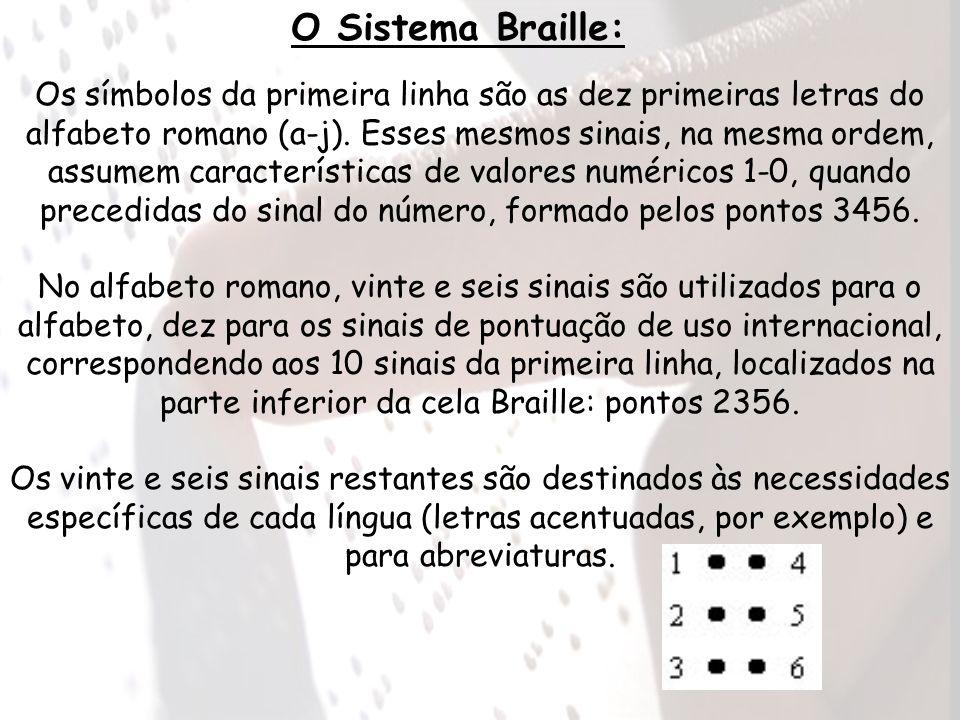 O Sistema Braille: