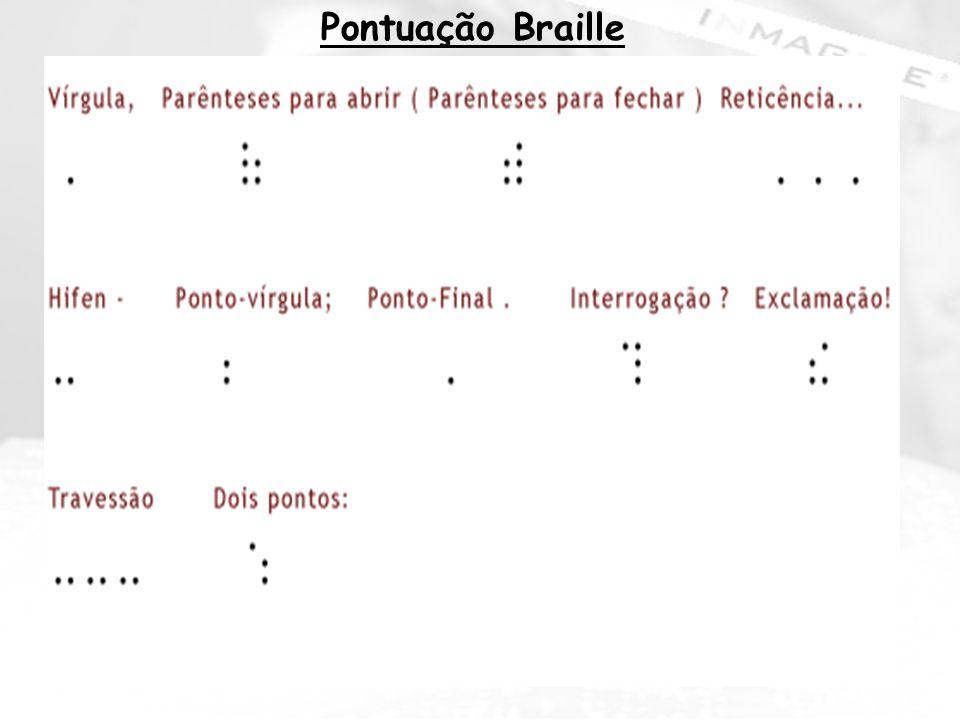 Pontuação Braille