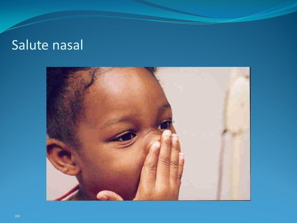 Salute nasal