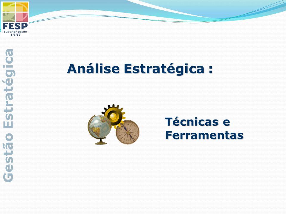 Análise Estratégica : Gestão Estratégica Técnicas e Ferramentas