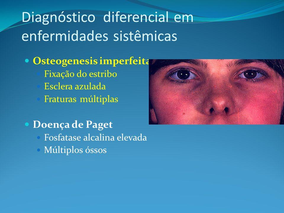 Diagnóstico diferencial em enfermidades sistêmicas