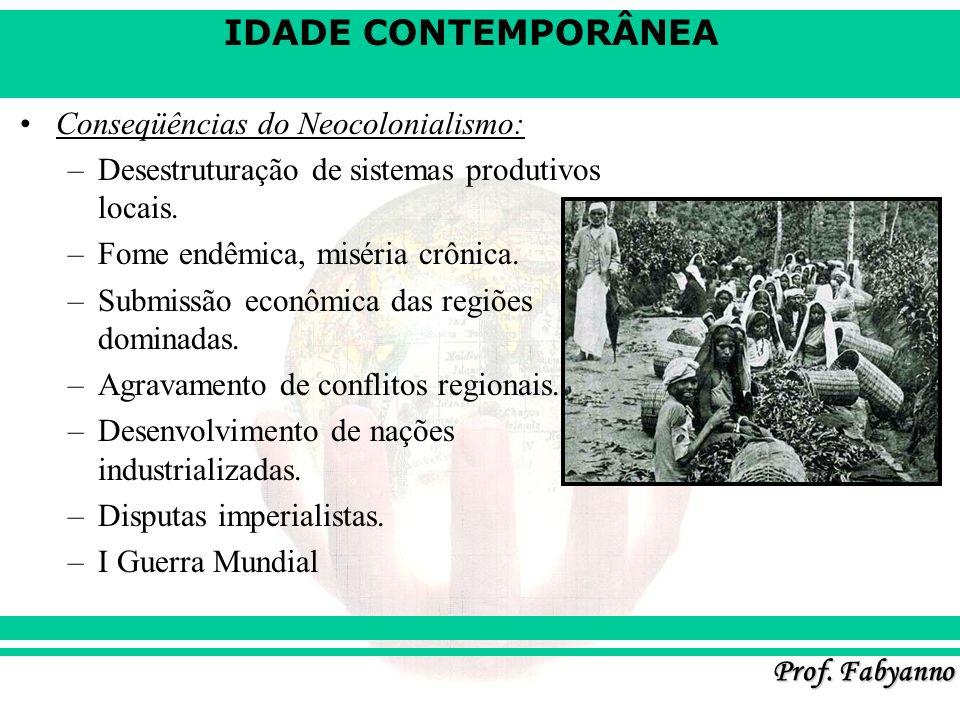 Conseqüências do Neocolonialismo: