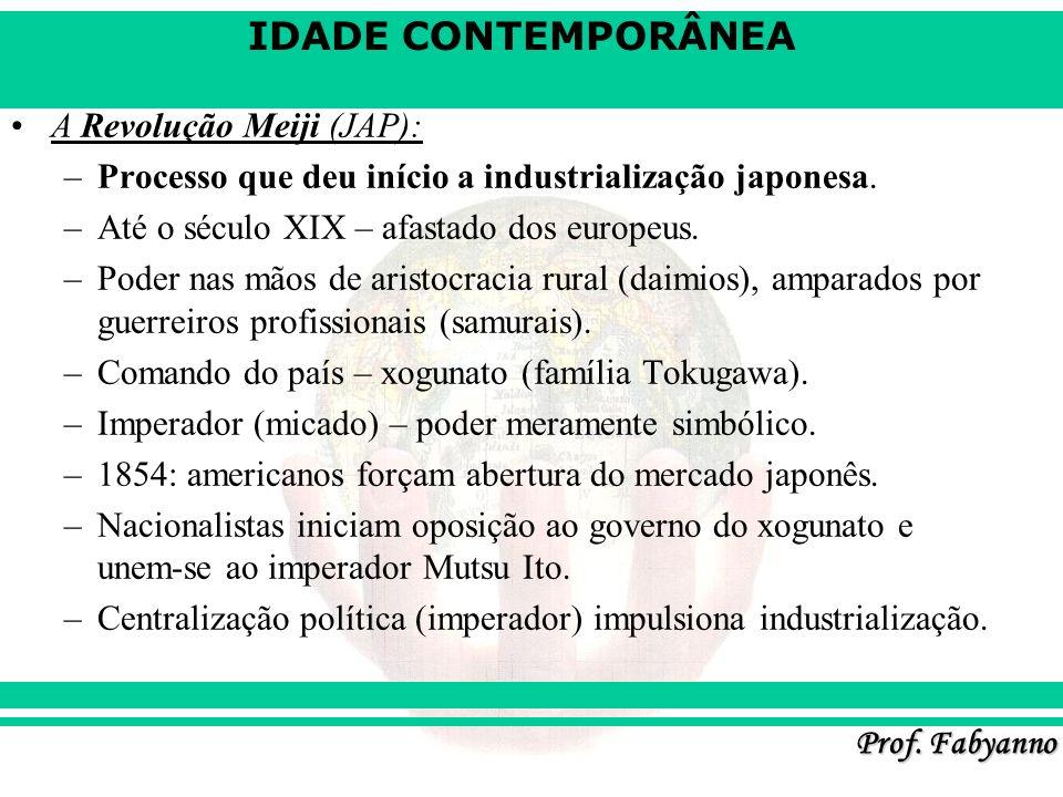 A Revolução Meiji (JAP):
