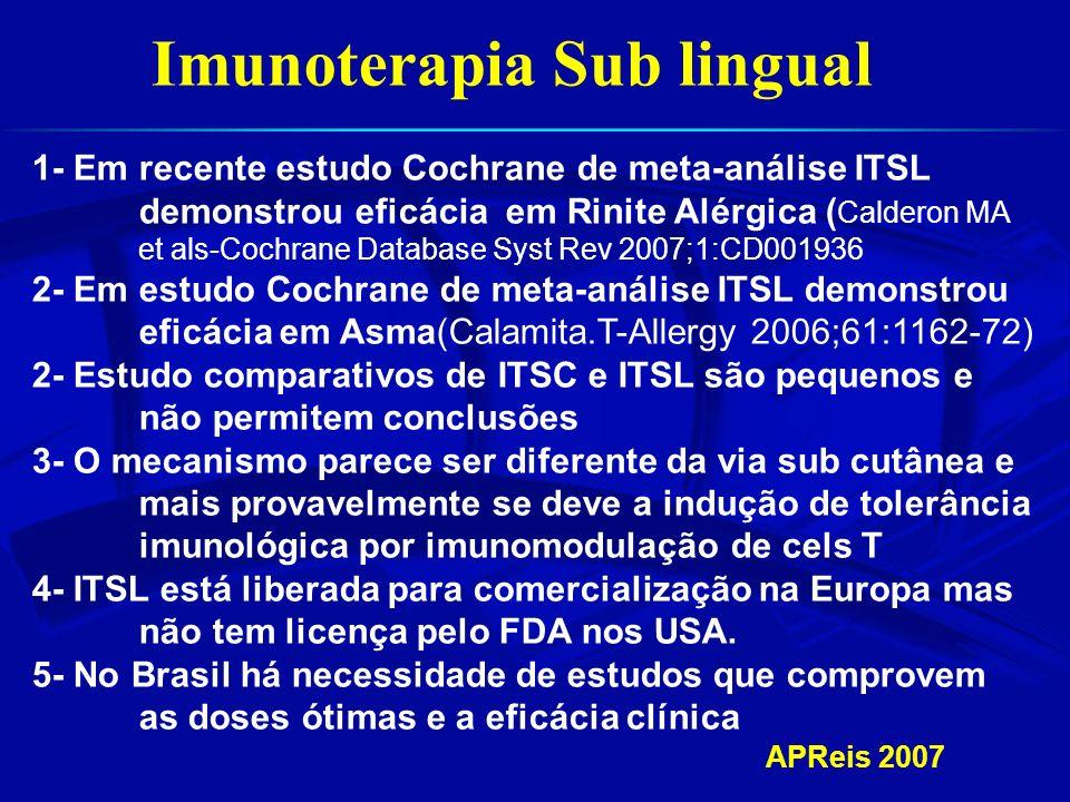 Imunoterapia Sub lingual