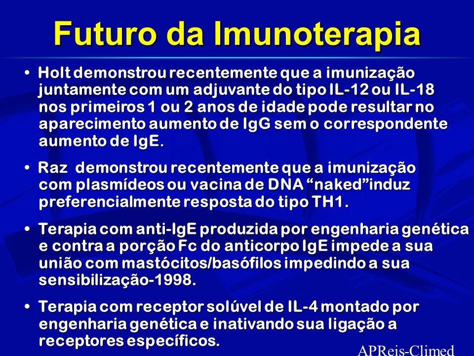Futuro da Imunoterapia