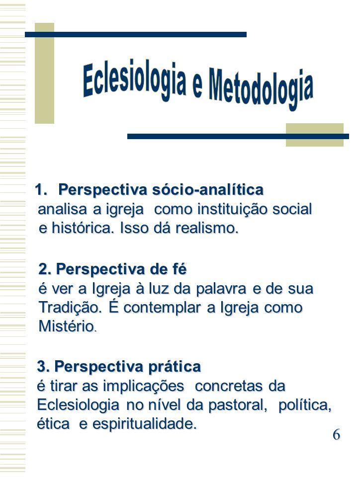 Eclesiologia e Metodologia