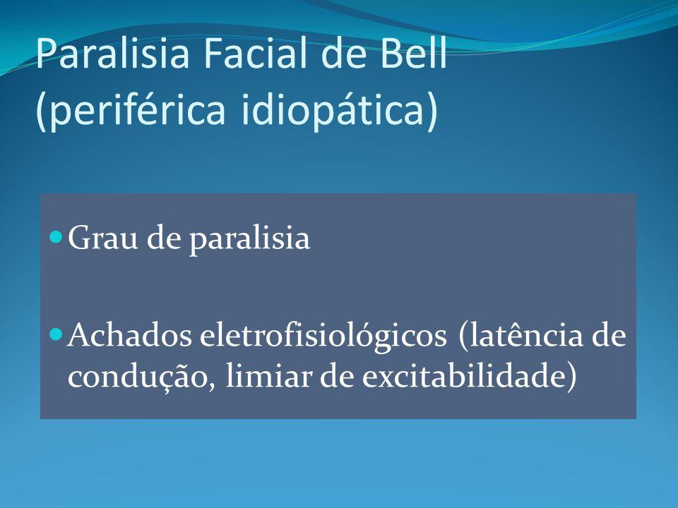 Paralisia Facial de Bell (periférica idiopática)