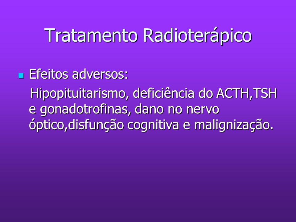 Tratamento Radioterápico