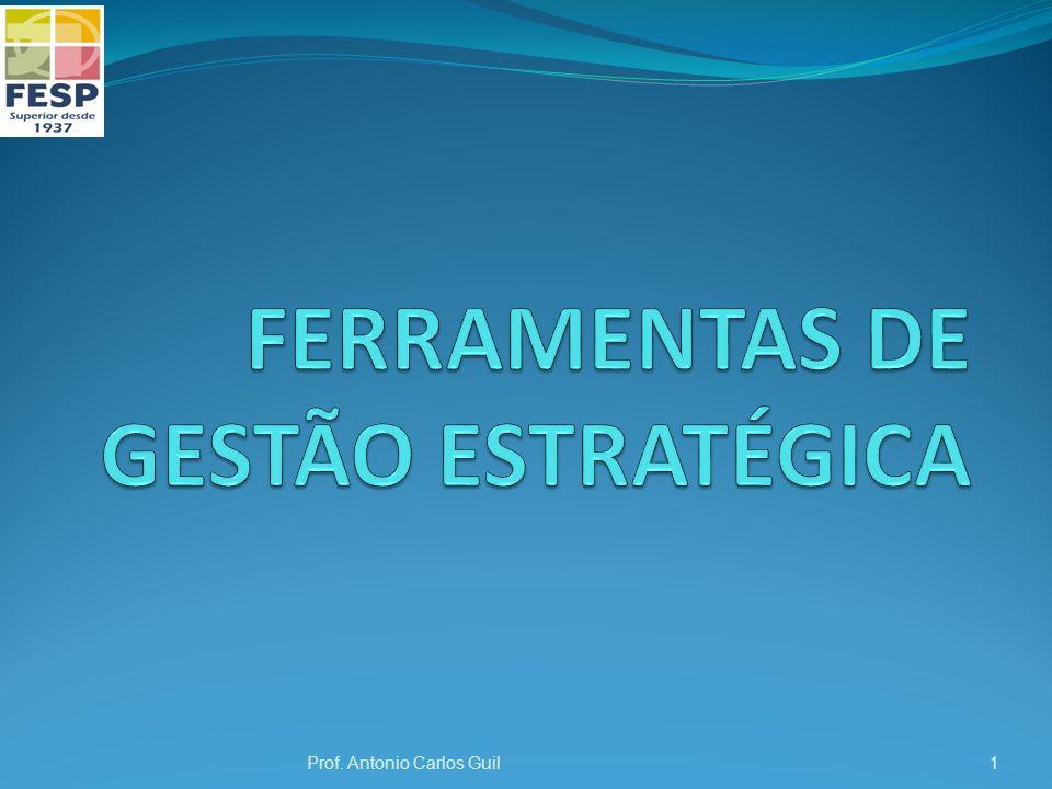 FERRAMENTAS DE GESTÃO ESTRATÉGICA