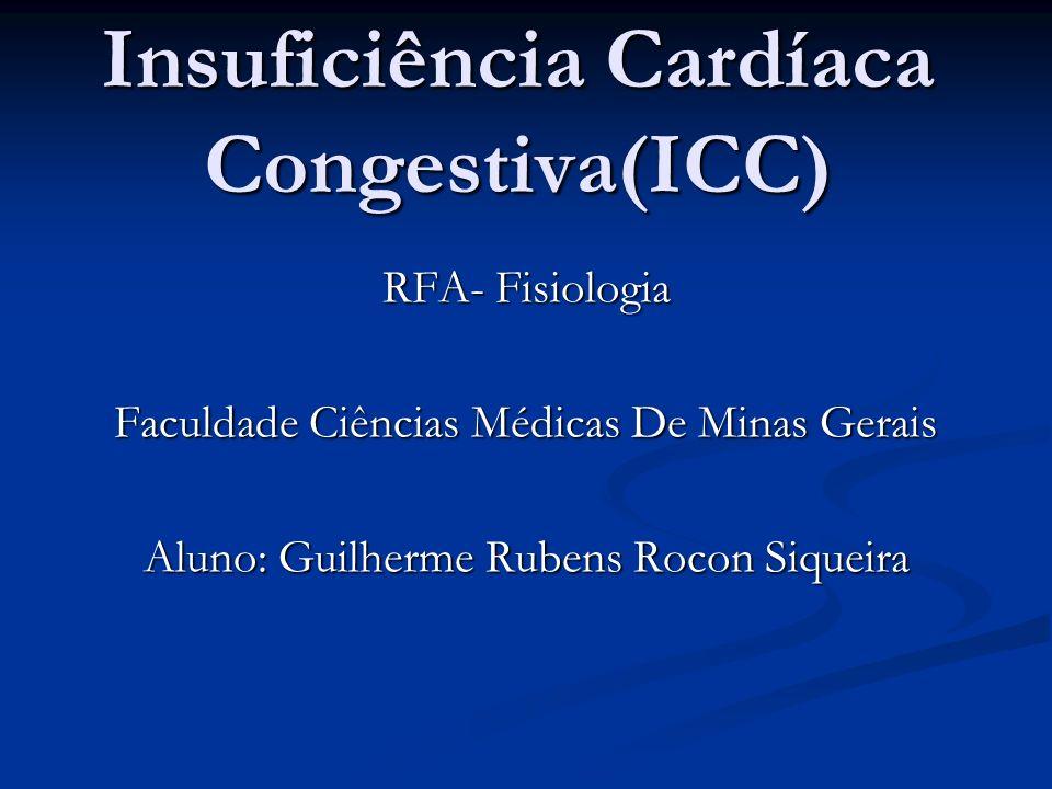 Insuficiência Cardíaca Congestiva(ICC)