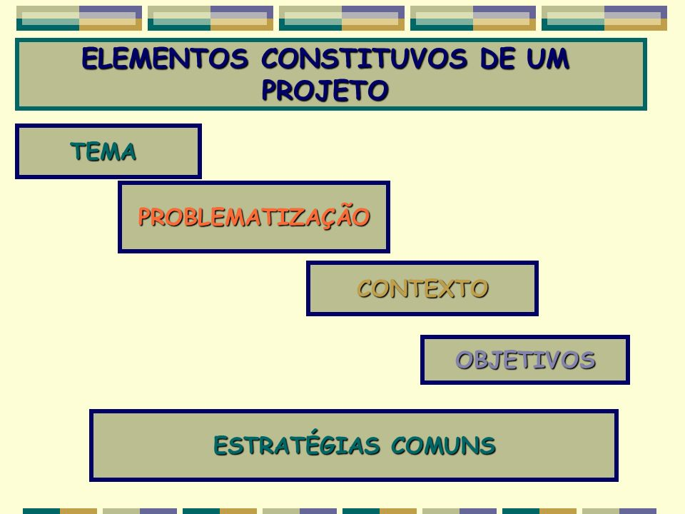 ELEMENTOS CONSTITUVOS DE UM
