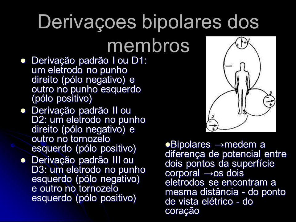 Derivaçoes bipolares dos membros