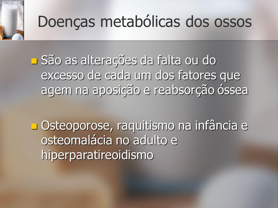 Doenças metabólicas dos ossos