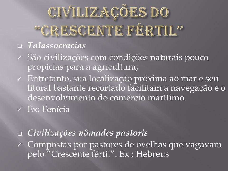 CIVILIZAÇÕES DO CRESCENTE FÉRTIL