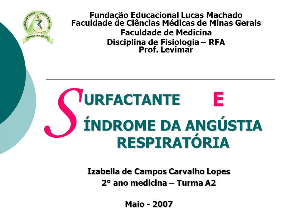 Izabella de Campos Carvalho Lopes 2° ano medicina – Turma A2